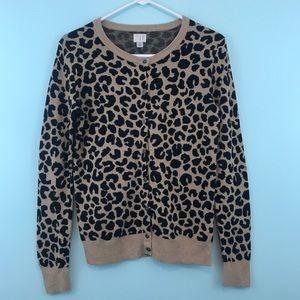 Like New Leopard Cardigan